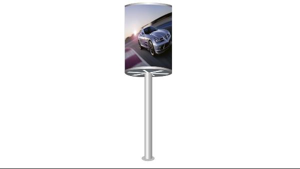 智能LED圆柱屏