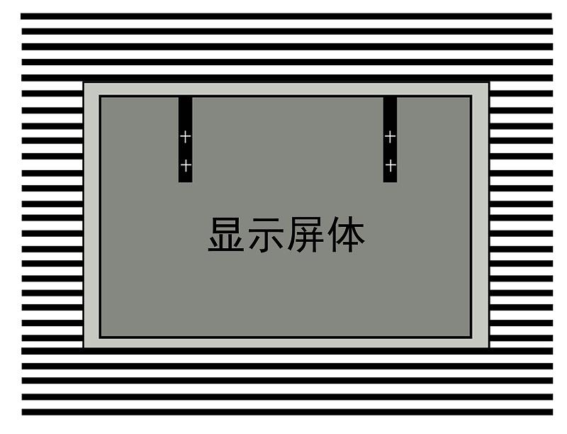 LED屏安装示意图