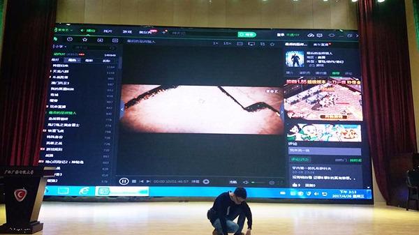 红运高照分享室内LED显示屏的安装方法